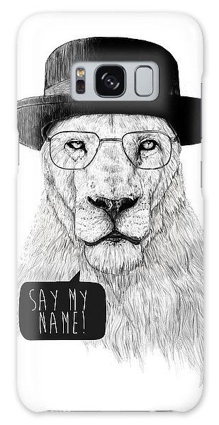Black Galaxy Case - Say My Name by Balazs Solti