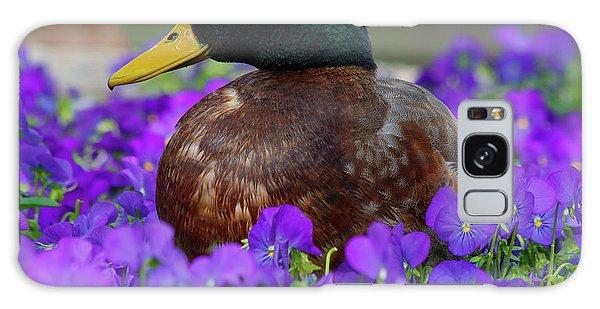 Say Quack Galaxy Case