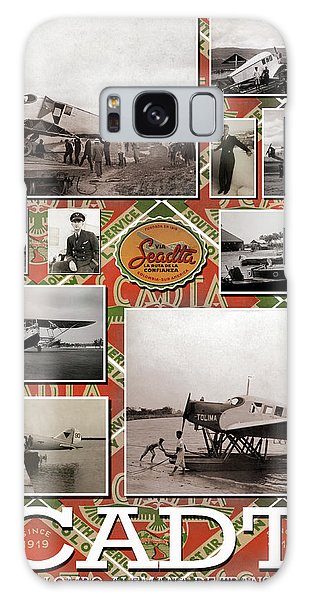 Scadta Airline Poster Galaxy Case