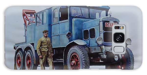 Scammell Wrecker. Galaxy Case by Mike Jeffries