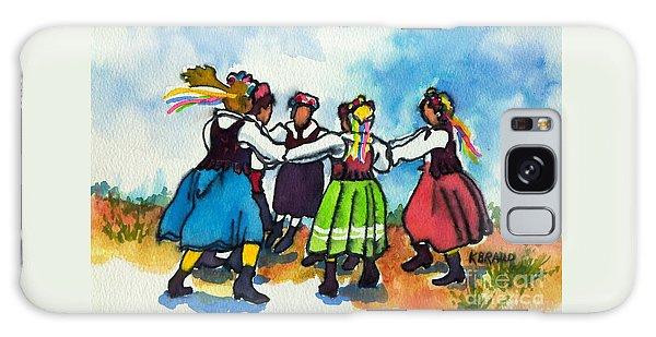 Scandinavian Dancers Galaxy Case