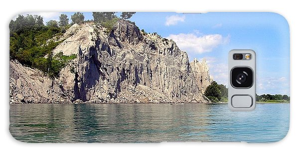 Scarborough Bluffs-lake View Galaxy Case by Susan  Dimitrakopoulos