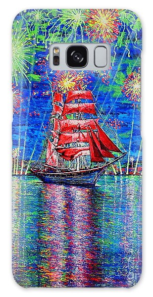 Scarlet Sail Galaxy Case