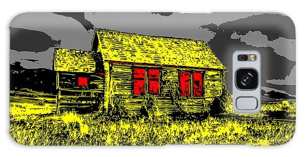 Scary Farmhouse Galaxy Case