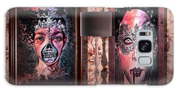 Scary Museum Wallart Galaxy Case