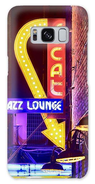 Scat Jazz Neon V3 Galaxy Case