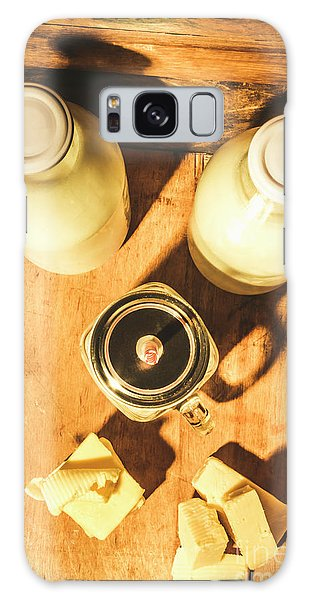 Cottage Galaxy Case - Scene From A Farm Kitchen by Jorgo Photography - Wall Art Gallery