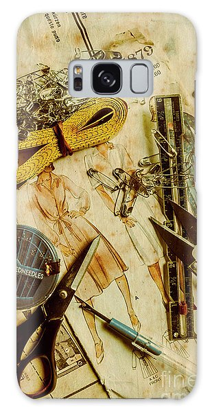 Faded Galaxy Case - Scene From A Fifties Craft Room by Jorgo Photography - Wall Art Gallery
