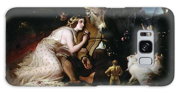 Scene From A Midsummer Night's Dream Galaxy Case by Sir Edwin Landseer