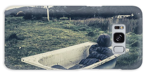 Wrap Galaxy Case - Scene Of A Serial Killing by Jorgo Photography - Wall Art Gallery
