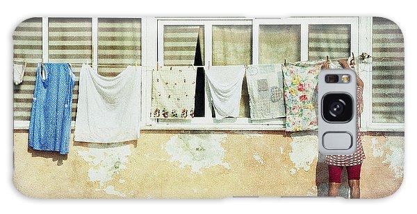 Scene Of Daily Life Galaxy Case by Vittorio Chiampan