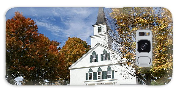 Scenic Church In Autumn Galaxy Case