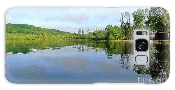 Scenic Gorham Pond #1 Galaxy Case