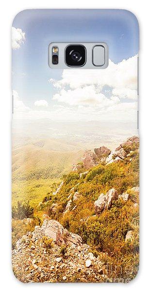 Beautiful Galaxy Case - Scenic Mountain Peak by Jorgo Photography - Wall Art Gallery