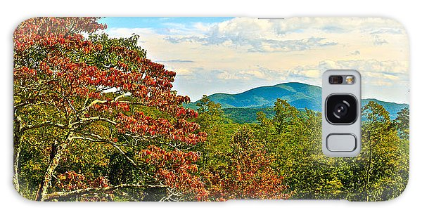 Scenic Overlook Blue Ridge Parkway Galaxy Case by The American Shutterbug Society