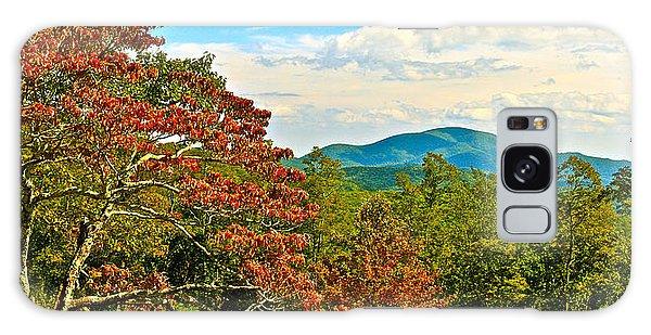 Scenic Overlook Blue Ridge Parkway Galaxy Case