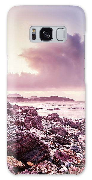 Dawn Galaxy Case - Scenic Seaside Sunrise by Jorgo Photography - Wall Art Gallery