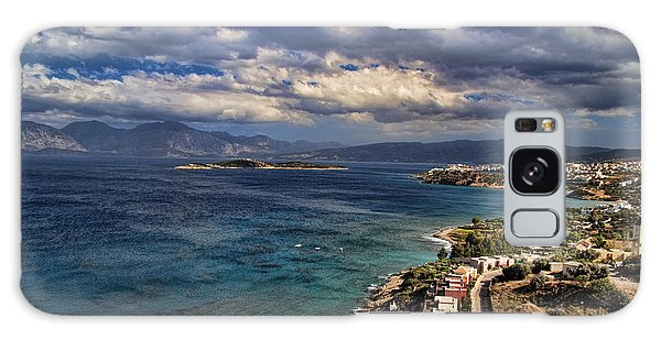 Scenic View Of Eastern Crete Galaxy Case by David Smith