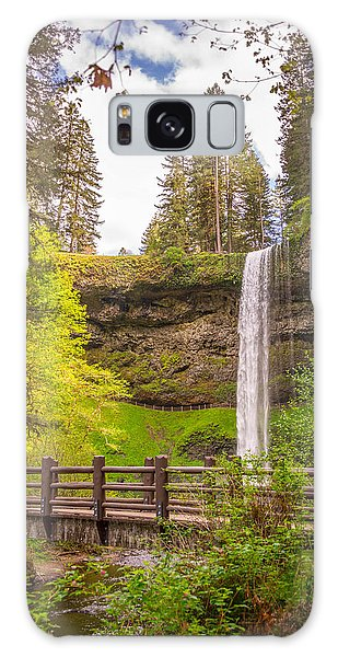 Scenic Waterfalls Galaxy Case by Jerry Cahill