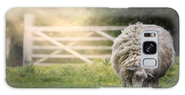 English Countryside Galaxy Case - Sheep by Joana Kruse