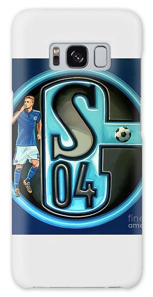 Jan Galaxy Case - Schalke 04 Gelsenkirchen Painting by Paul Meijering