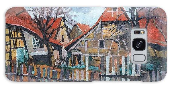 Scheunen Am Ortsrand Lienzingen Galaxy Case by Martin Stankewitz
