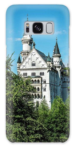 Galaxy Case featuring the photograph Schloss Neuschwantstein by David Morefield
