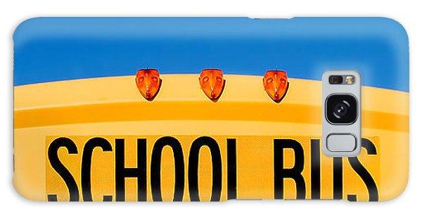 School Galaxy Case - School Bus Top by Todd Klassy