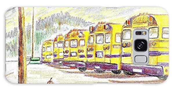 School Bussiness Galaxy Case