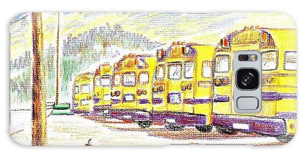 School Bussiness Galaxy Case by Kip DeVore