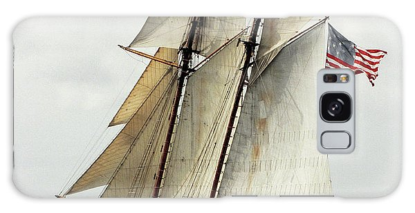 Schooner Pride Of Baltimore II Galaxy Case