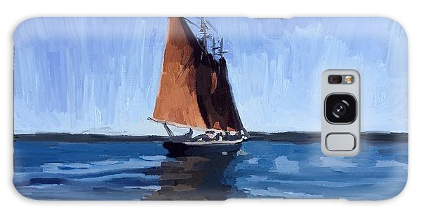Galaxy Case - Schooner Roseway In Gloucester Harbor by Melissa Abbott