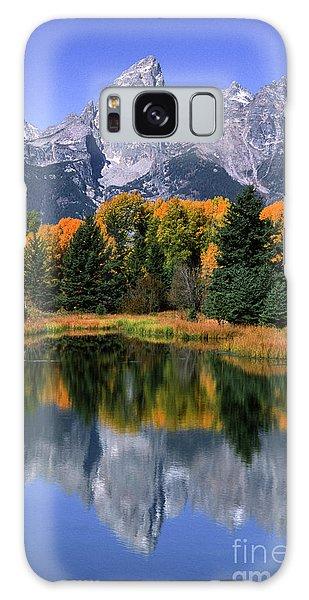 Teton Range Galaxy Case - Schwabacher Landing -grand Teton by Sandra Bronstein