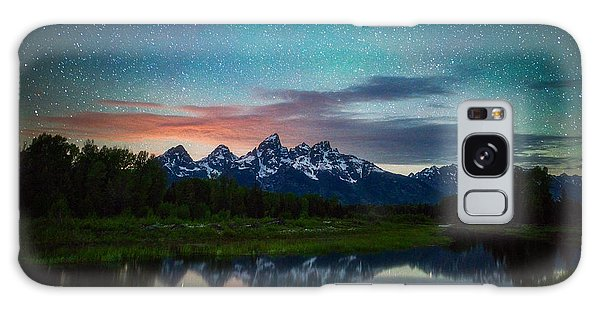Teton Galaxy Case - Schwabacher Nights by Darren White