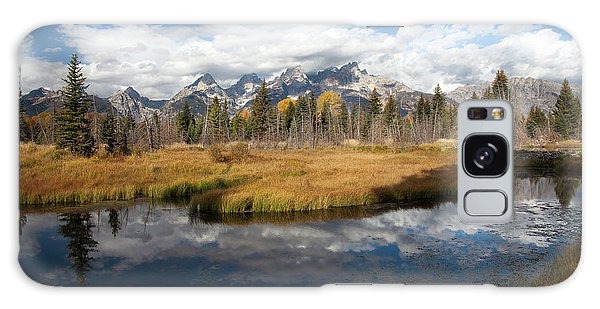 Schwabachers Landing, Grand Teton National Park Wyoming Galaxy Case