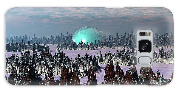 Sci Fi Landscape Galaxy Case