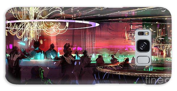 Sci-fi Lounge Galaxy Case