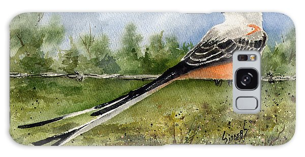Flycatcher Galaxy Case - Scissor-tail Flycatcher by Sam Sidders