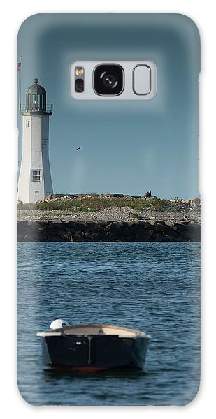 Scituate Lighthouse Galaxy Case