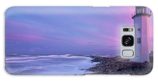 Scituate Sunset  Galaxy Case