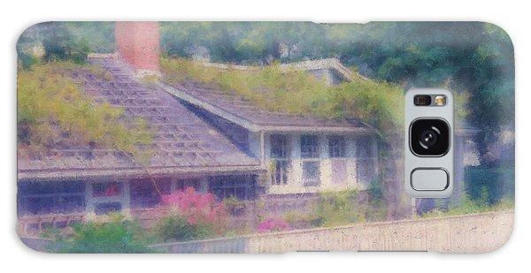 Sconset Cottage #3 Galaxy Case