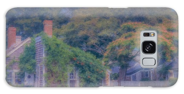 Sconset Cottages Nantucket Galaxy Case