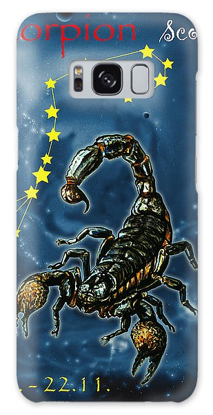 Galaxy Case - Scorpius And The Stars by Johannes Margreiter