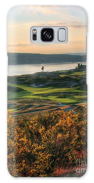 Scotch Broom -chambers Bay Golf Course Galaxy Case