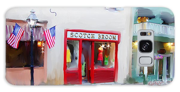 Scotch Broom Galaxy Case