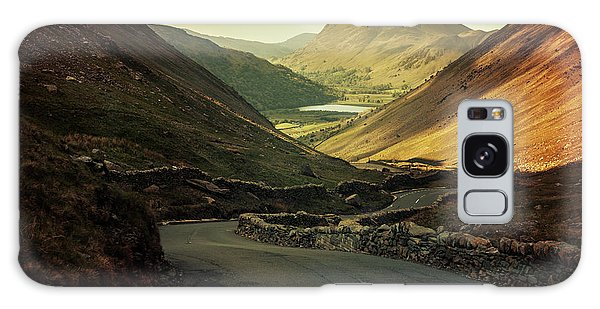 Scotland At The Sunset Galaxy Case by Jaroslaw Blaminsky