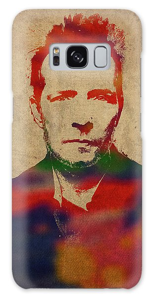Stone Galaxy Case - Scott Weiland Stone Temple Pilots Watercolor Portrait by Design Turnpike