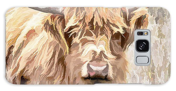Scottish Highland Cow Galaxy Case