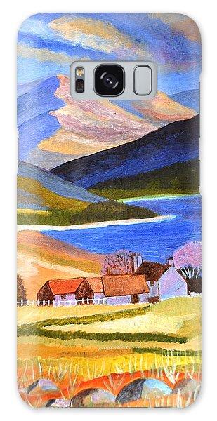 Scottish Highlands 2 Galaxy Case by Magdalena Frohnsdorff