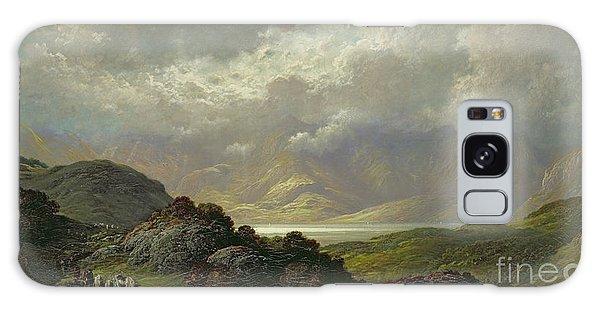 Hills Galaxy Case - Scottish Landscape by Gustave Dore